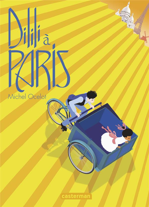 DILILI A PARIS - LE ROMAN ILLUSTRE DU FILM OCELOT MICHEL CASTERMAN
